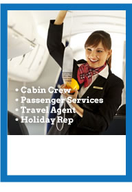 Diploma Practical Airport Based Training - Cabin Crew, Passenger Services, Travel Agent, Holiday Rep