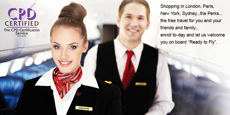 Ready to Fly – Diploma in Cabin Crew Operations - International Academy of Travel