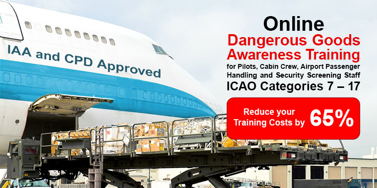 Online Dangerous Goods Categories - International Academy of Travel