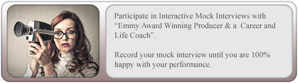 Emmy award Winning Producer and Career and Life Coach